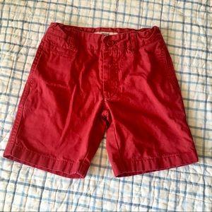 Jacadi Red shorts. Adjustable waist. Size 4T EUC